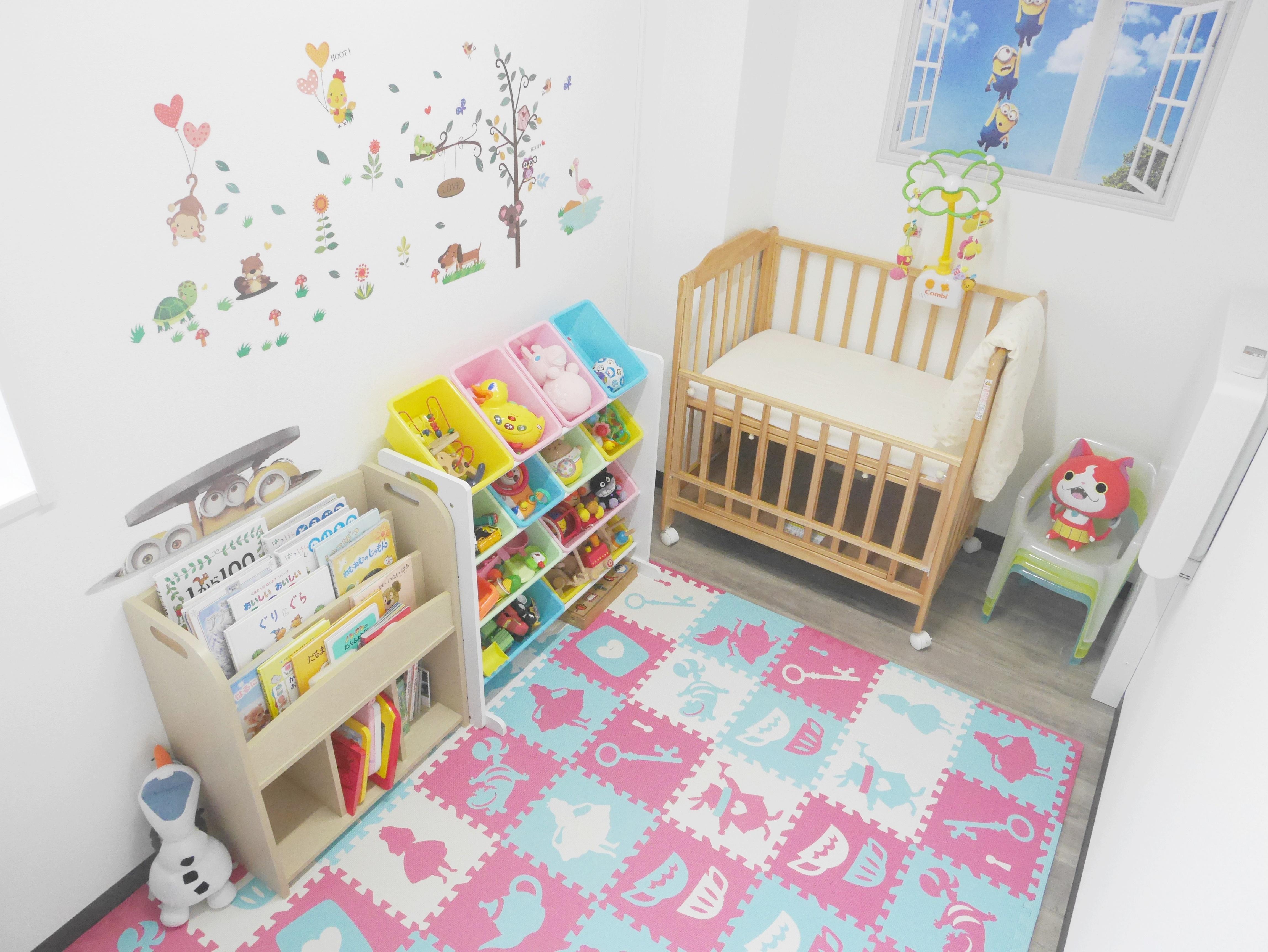 個室のキッズルームがあるのはおゆみ野、鎌取で唯一セレネ整骨院鍼灸院のみ☆