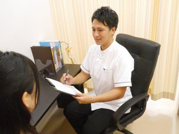 おゆみ野、鎌取駅のセレネ整骨院鍼灸院は丁寧なカウンセリングを心がけています!